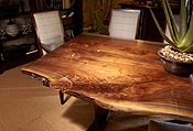 Live Edge Cherry Dining Table